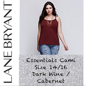 Like New! Lane Bryant Essential Cami size 14/16